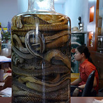 Lizards, snakes and more in this rice wine.