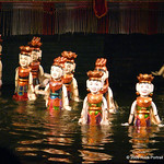 Water Theatre puppets